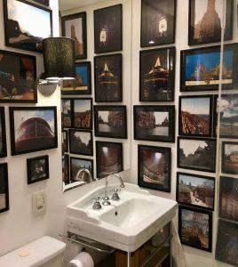 lavabo/ banheiro com fotos